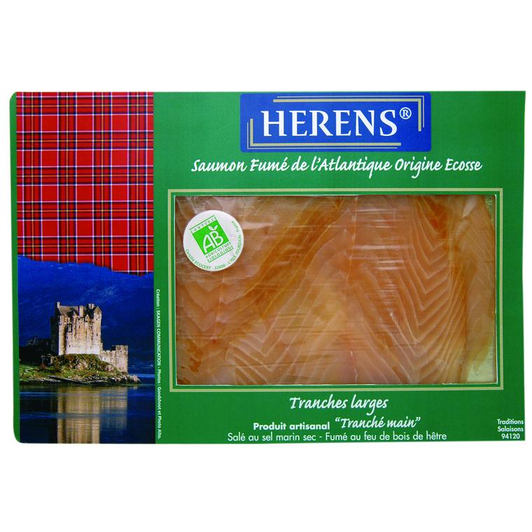 Saumon fumé Shetlands 2 tranches 160287