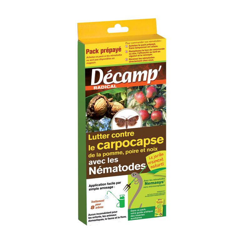 Nématodes traitement biologique contre la carpocapse 160338