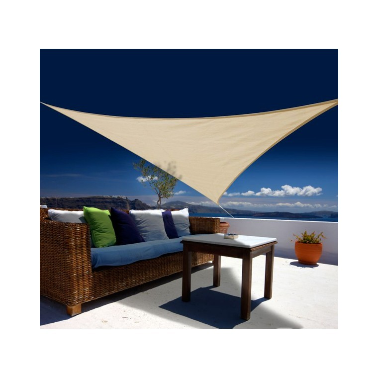 Voile ombrage sable 3,6m triangulaire Austral 162885