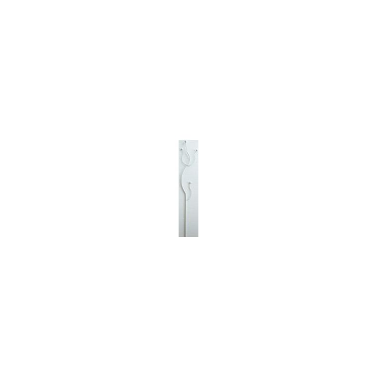 Mini Twiggy festonné  métal blanc 163852