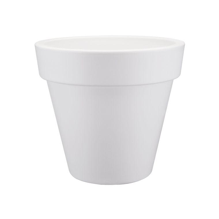 Pot 40cm Pure Round Elho blanc 165252