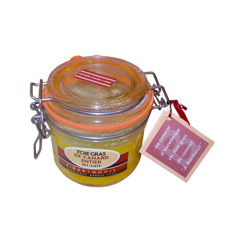 Foie gras de canard entier mi-cuit 180 g 165618