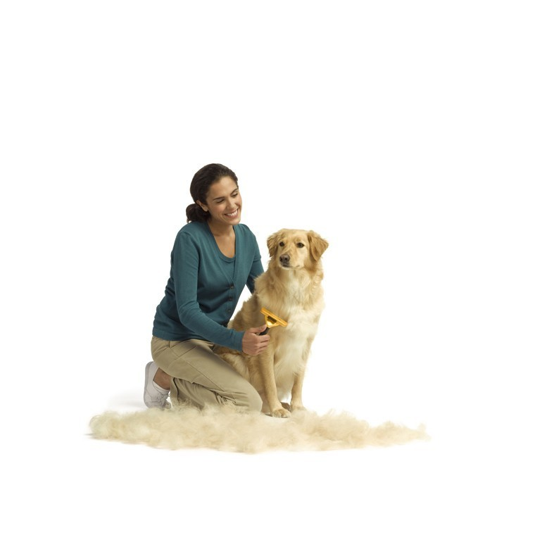 Brosse Furminator S chien poils courts 167416