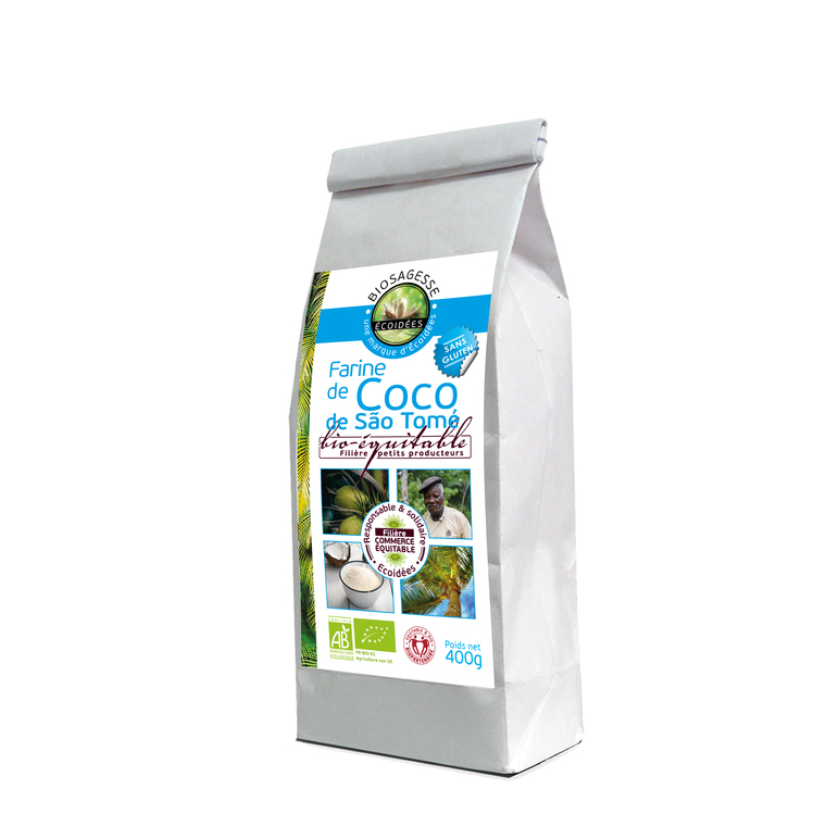 Farine de coco Bio - 4 00 g 169366