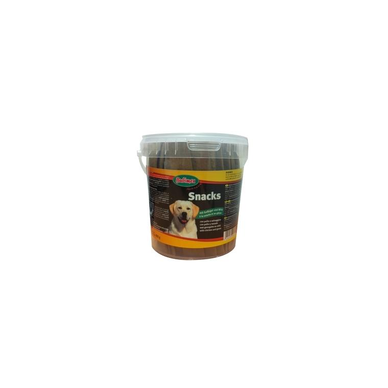 Pot de friandises extrudées à la volaille et au gibier Bubimex 800 g 170713