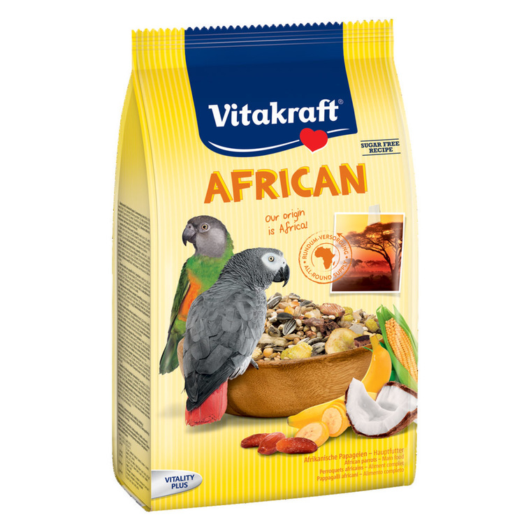 Mélange Perroquets African gris Gabon Vitakraft 750g 178495