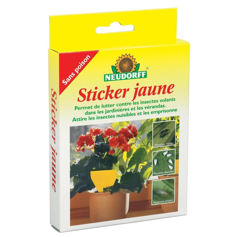 Sticker jaune 183226