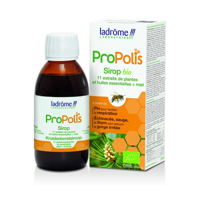 sirop propolis + échinacéa+ thym 150 ml LA DRÔME PROVENÇALE 183768