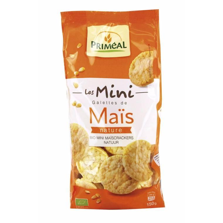 Mini galettes de maïs 150 g PRIMEAL 183831
