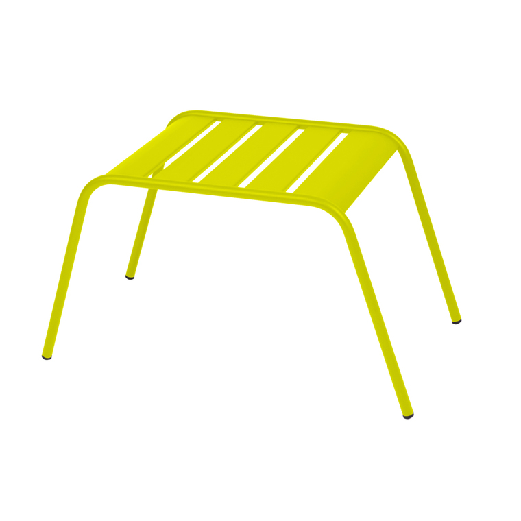 Table basse de jardin Monceau Fermob verveine 42 x 45 x 41 cm 196525