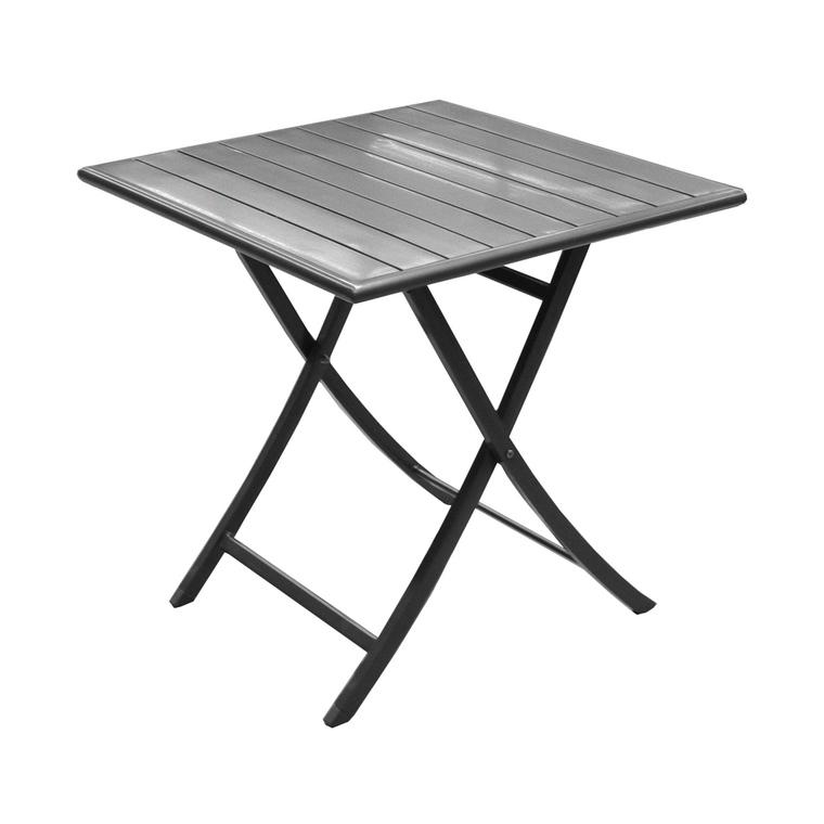 Table de jardin Max carrée 70x70 cm 196976
