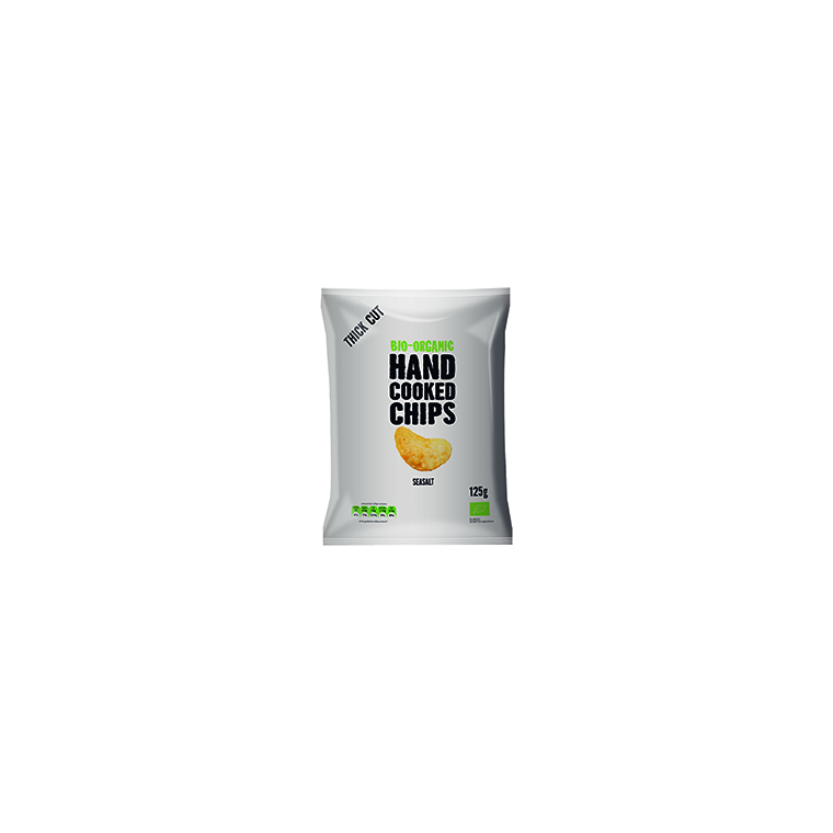 Chips à l'ancienne nature - 125 gr