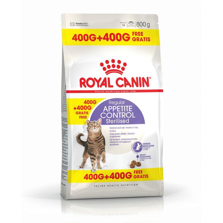 Appetite Control sterilised croquettes chat stérilisé 400 g + 400 g