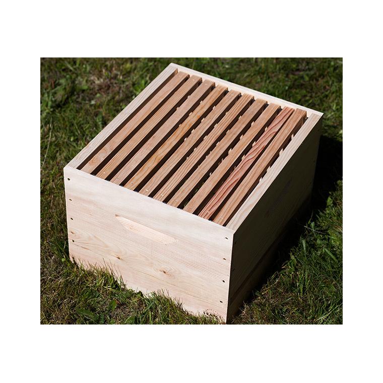 Corps de ruche avec cadres 50×43,x31,5