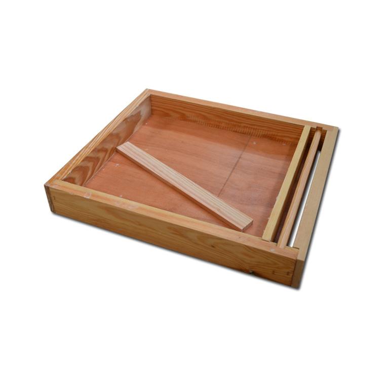 Nourrisseur en bois Couvre Cadres 50x43x7