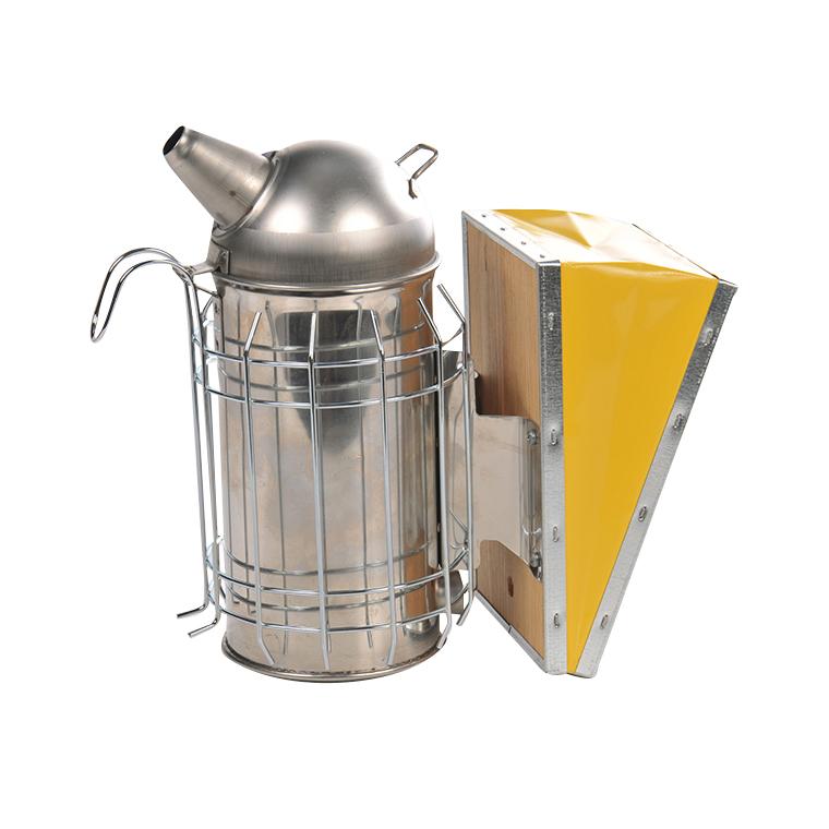 Enfumoir basique en inox avec protection 26x13x24