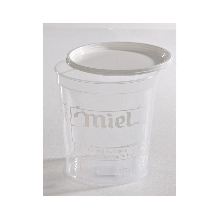 Pot en plastique - 1kg