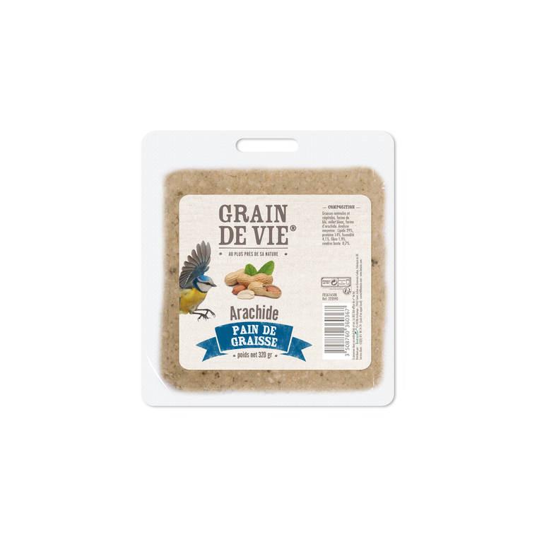 Pain de graisse cacahuetes 315 g