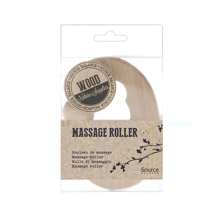 Boules de massage dos en bois