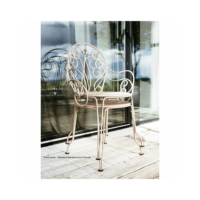 Fauteuil de jardin Montmartre Fermob muscade