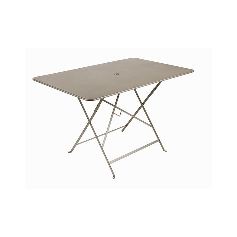 Table bistro fermob 117 x 77 grande table bistro fermob for Mini table pliante