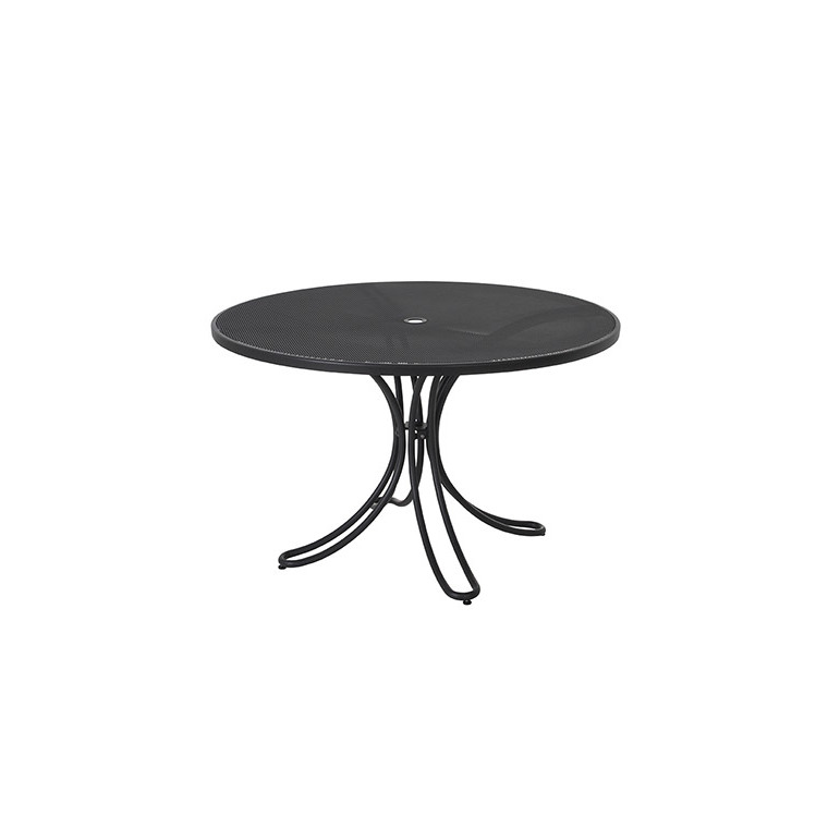 table de jardin ronde florence emu fer ancien 120 x 75 cm botanic. Black Bedroom Furniture Sets. Home Design Ideas