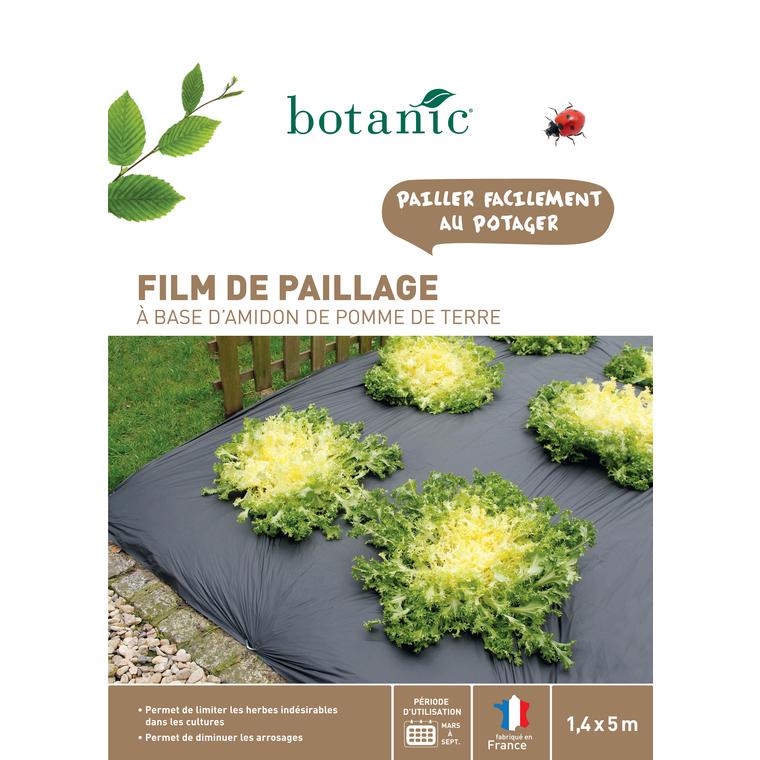 Film de paillage biodégradable 1,40x5 m