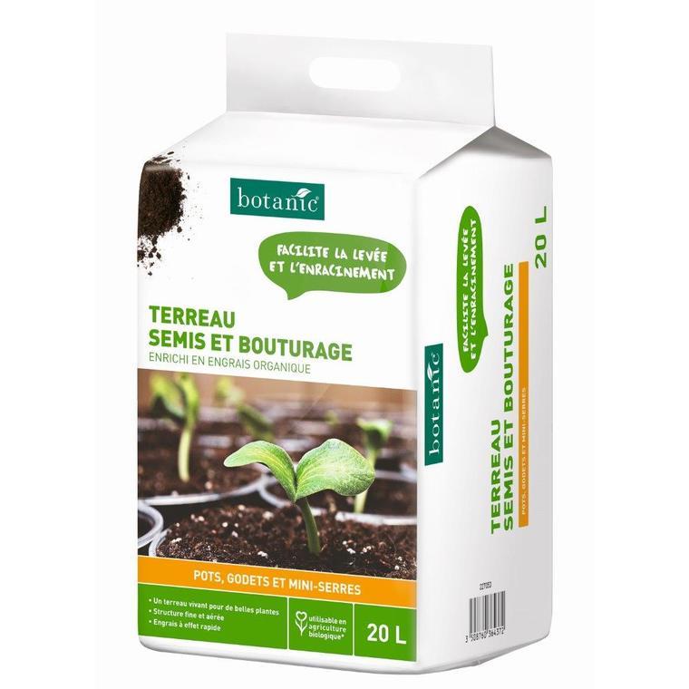 Terreau semis et bouturage 20 L