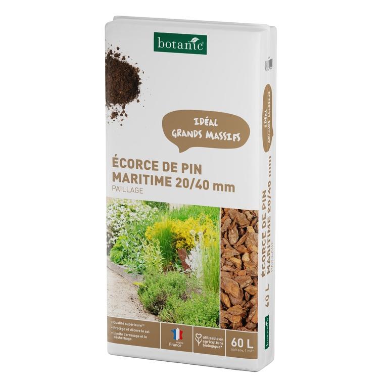 Monarde carlate semis plantation r colte sol les - Ecorce de pin auchan ...