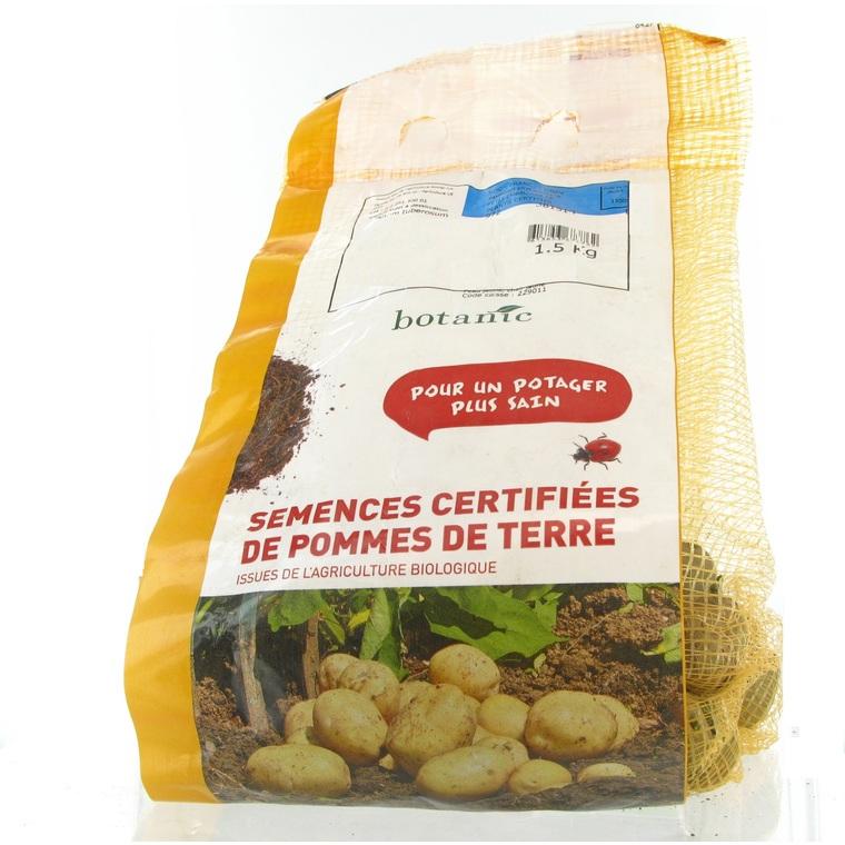 Pommes de terre Agata bio calibre 0001, 1,5 kg