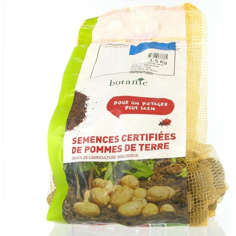 Pommes de terre Annabelle bio calibre 0001, 1,5 kg