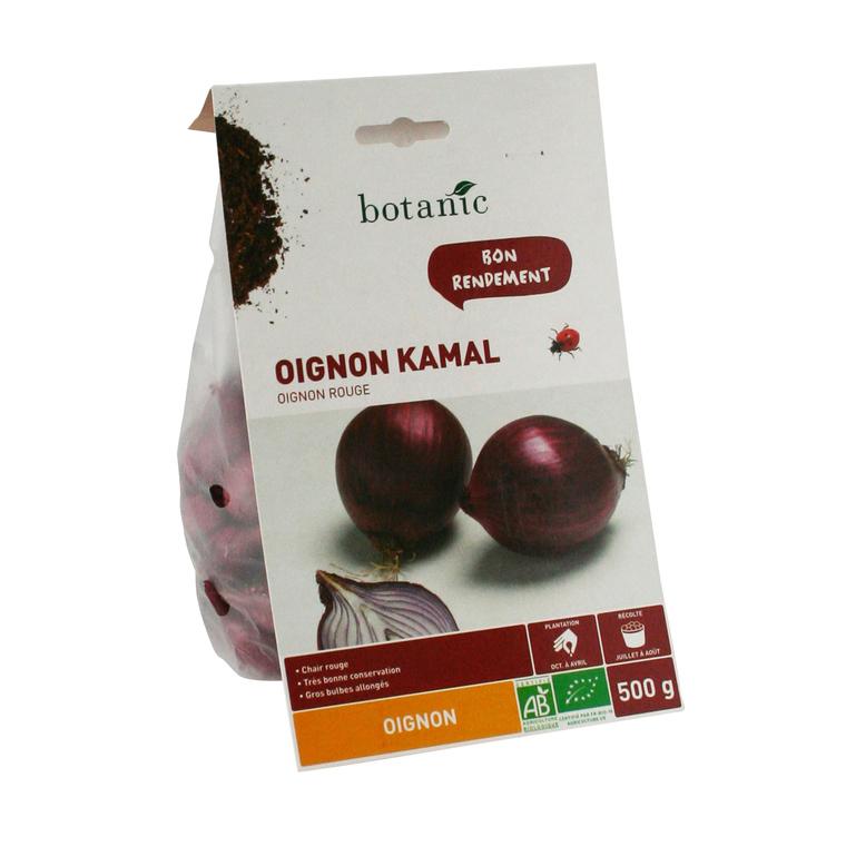 Bulbes d'oignon Kamal AB bio 500 g