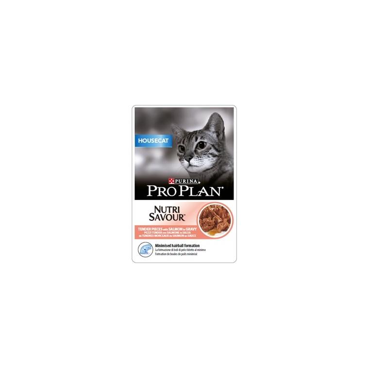 Sachet Housecat au saumon pour chat – 85 gr