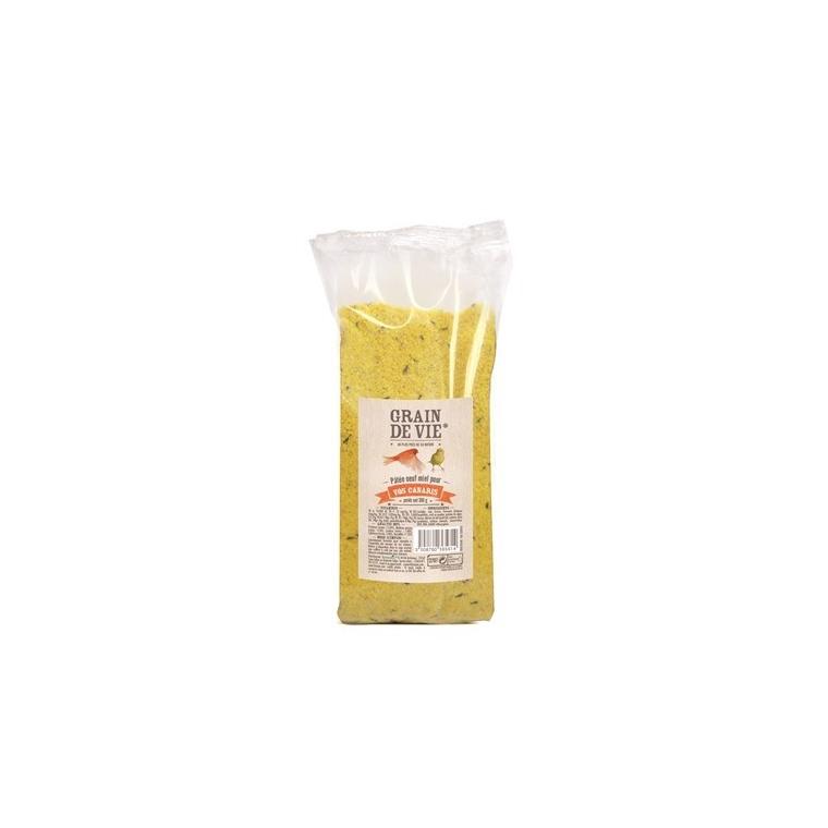 Pâtée élevage aux œufs et aux miel pour canari 350g