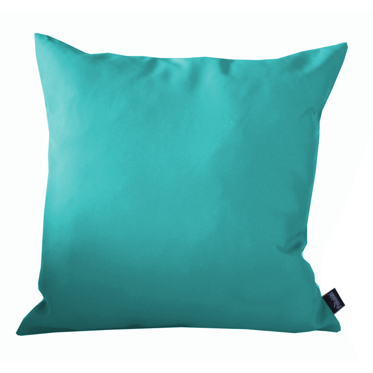 Coussin polyester bleu 40x40 cm coussins ext rieur - Coussin polyester exterieur ...