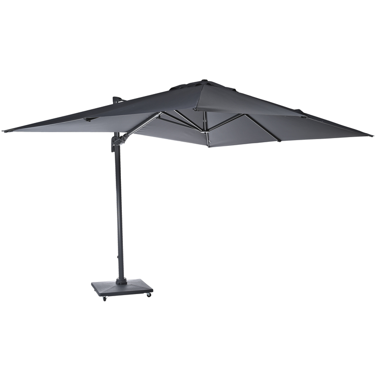 proloisirs parasol dport rectangulaire 300x400cm capri grey catgorie parasol. Black Bedroom Furniture Sets. Home Design Ideas