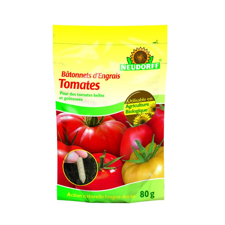 Engrais batonnets tomates