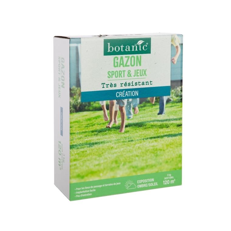 Gazon Sports et Jeux Label Éco-durable 3 kg