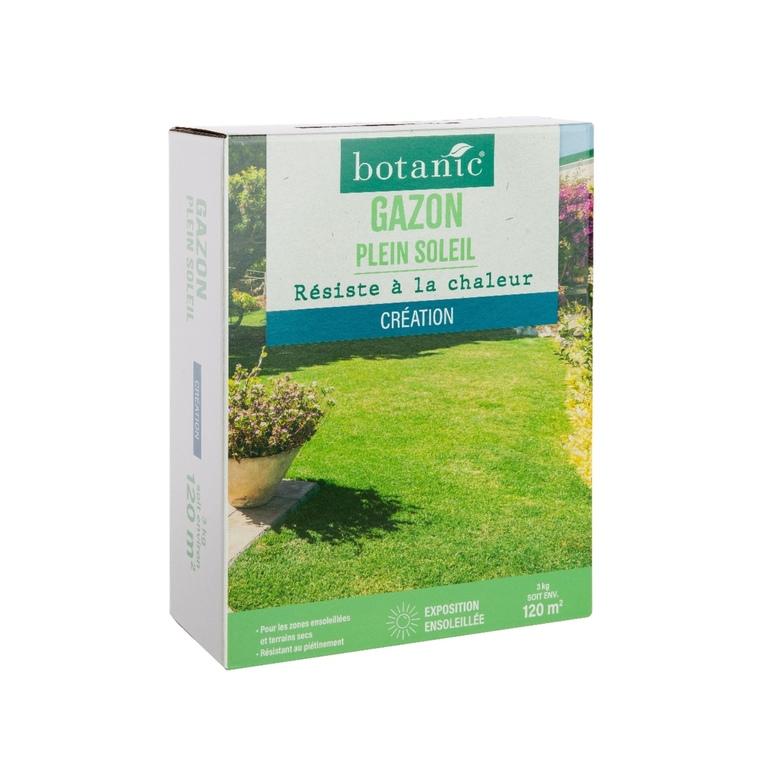 Gazon Plein soleil label éco-Durable 3 kg