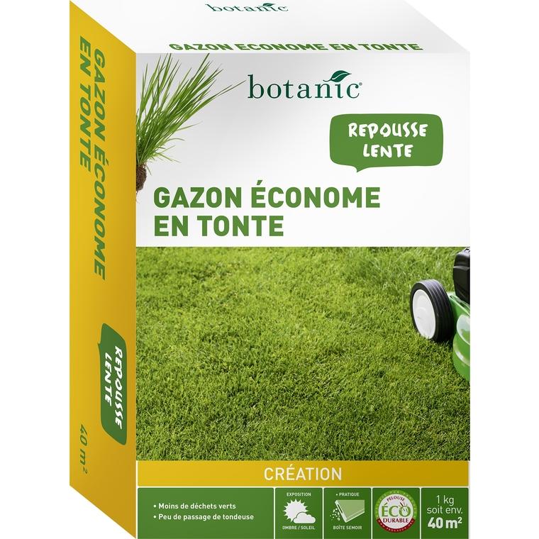 Gazon conome en tonte label co durable 1 kg botanic for Gazon tonte
