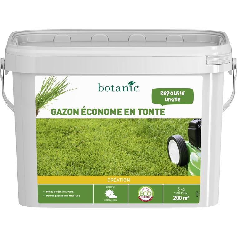 Gazon conome en tonte label co durable 5 kg botanic for Gazon tonte