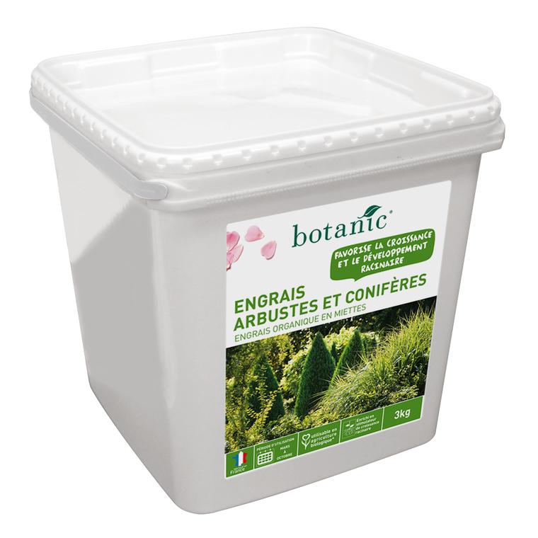Engrais arbustes et conifères 3kg