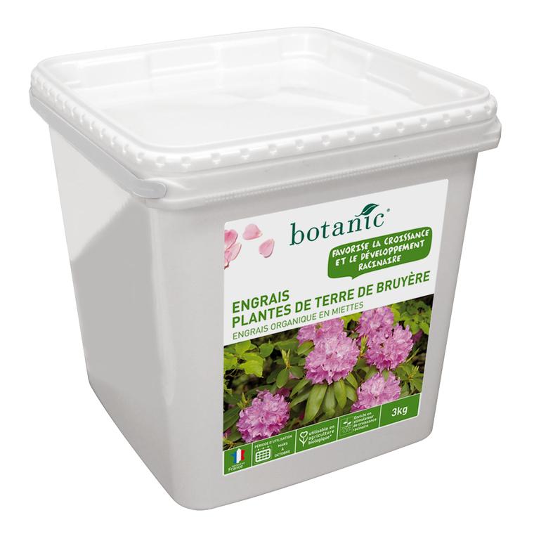 Engrais plantes de terre de bruyère 3kg