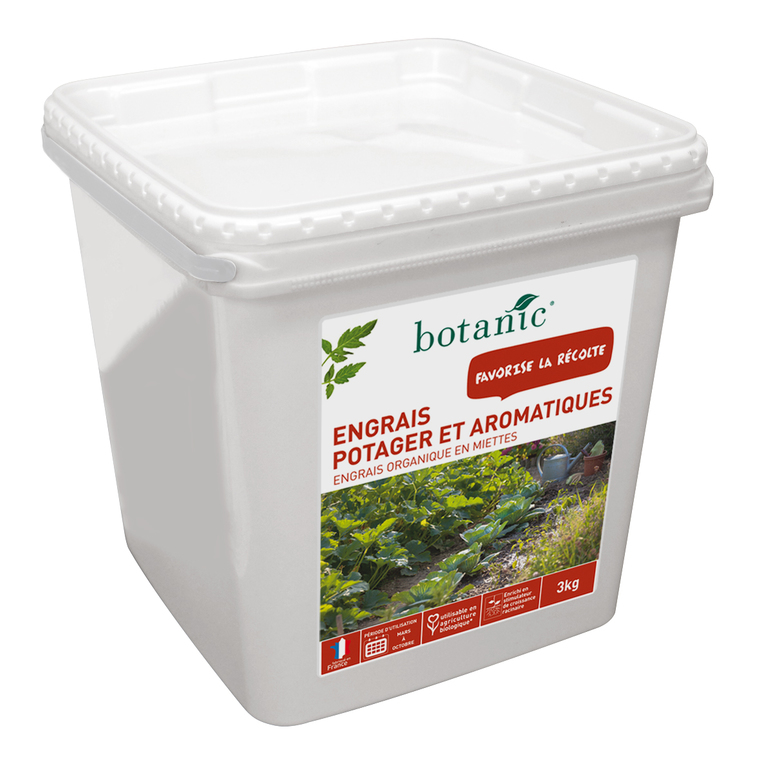 Engrais potager et aromatiques 3kg