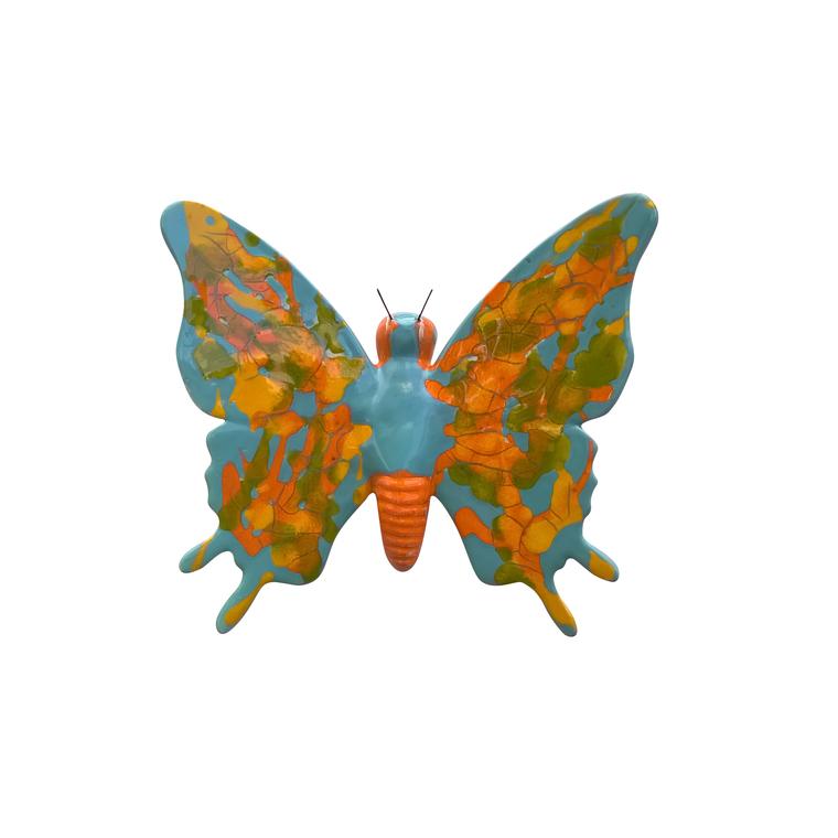 Papillons assortis Ethnic 22 cm