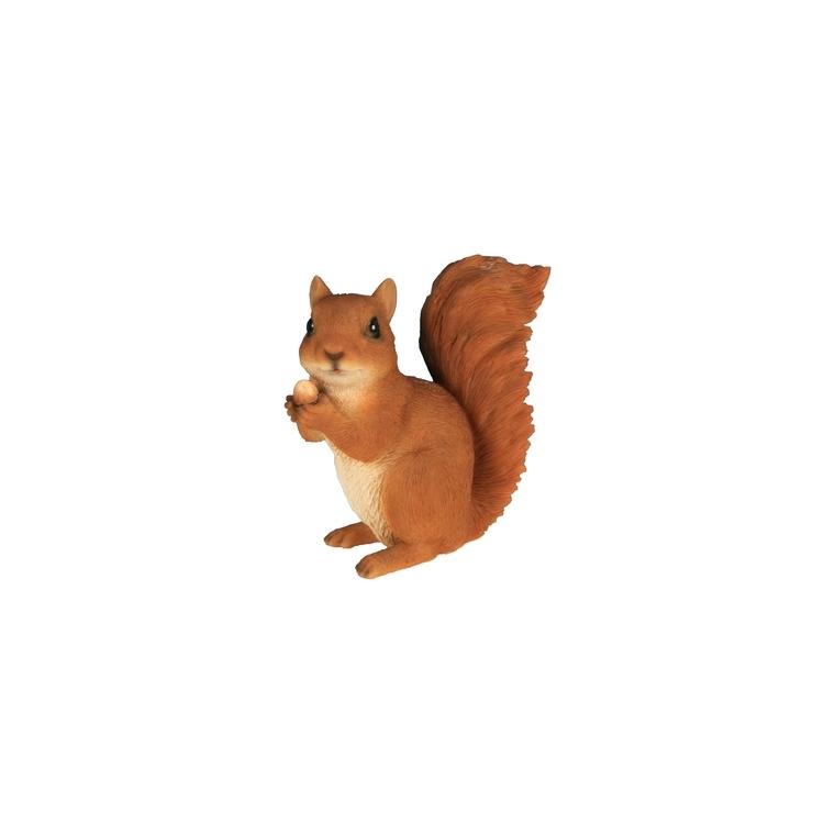 Écureuil avec noisette 14 cm
