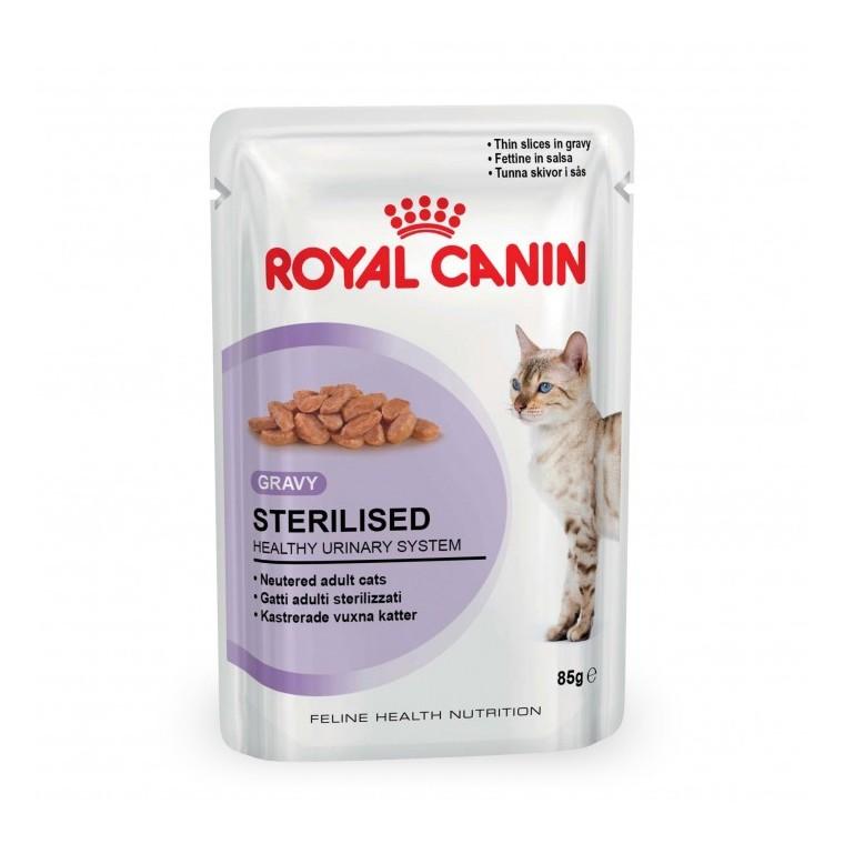 Alimentation Chat stérilisé royal canin ? 6 x85 gr