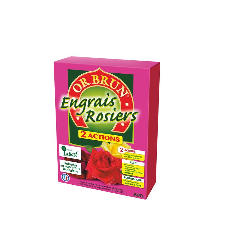 Engrais 2A rosiers 800 g