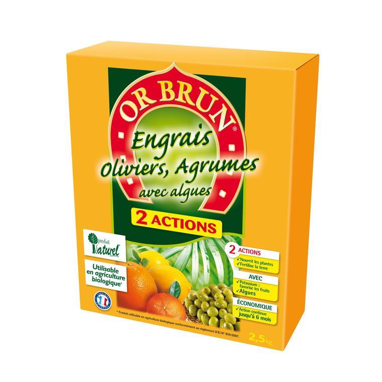 Engrais 2A oliviers et agrumes 2,5 kg