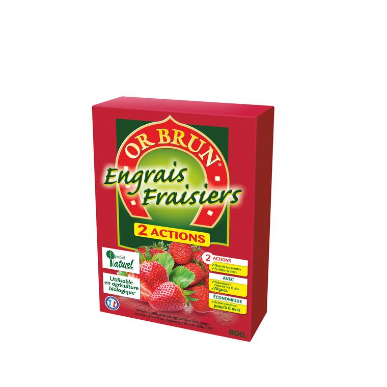 Engrais 2A fraisiers 800 g